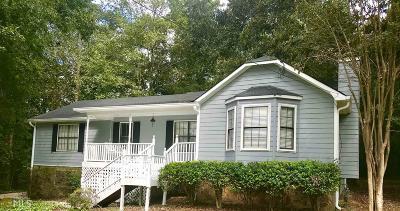 Douglasville Single Family Home New: 2291 Concord Way