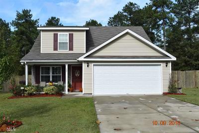 Statesboro Single Family Home New: 102 Stonebrook Way