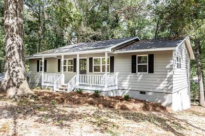 Douglasville Single Family Home New: 2220 Hunt Rd