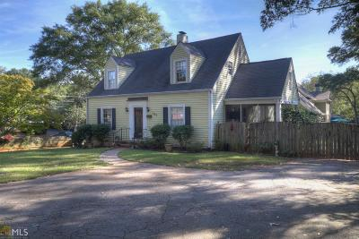 Historic Marietta Single Family Home For Sale: 594 Cherokee St