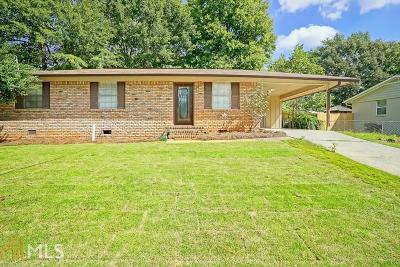 Smyrna Single Family Home New: 495 Concord Woods Dr