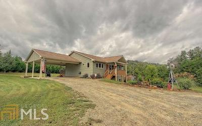 Blairsville Single Family Home New: 2281 Liberty Church Rd