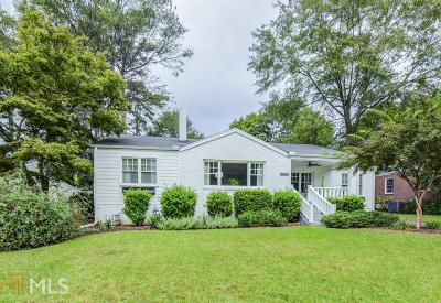 Decatur Single Family Home New: 2300 Sanford Rd