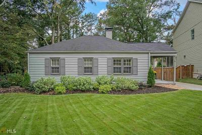Brookhaven Single Family Home For Sale: 2682 Carlton Pl