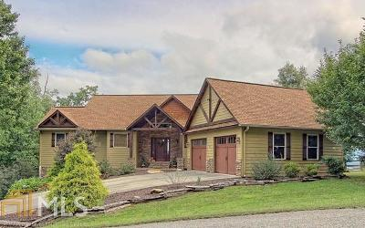 Blairsville Single Family Home Under Contract: 85 Chestnut Mtn Rd