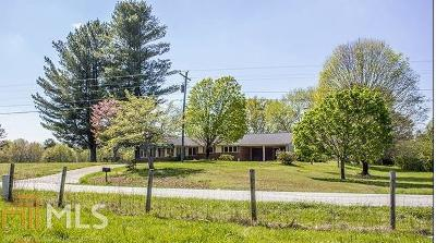 Habersham County Single Family Home New: 3615 Level Grove