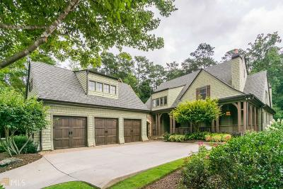 Marietta, Roswell Single Family Home For Sale: 3960 Lower Roswell Rd