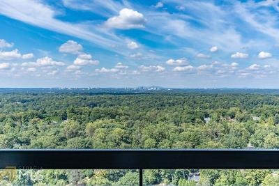 Park Place On Peachtree Condo/Townhouse For Sale: 2660 Peachtree Rd #35C