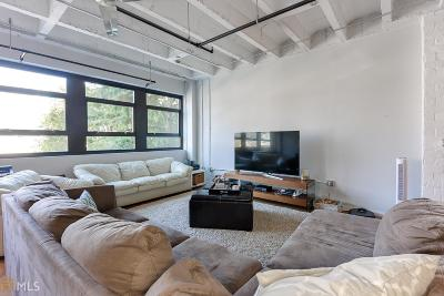 Peachtree Lofts Condo/Townhouse For Sale: 878 Peachtree St