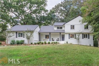 Sandy Springs Single Family Home Under Contract: 7545 Ball Mill Rd