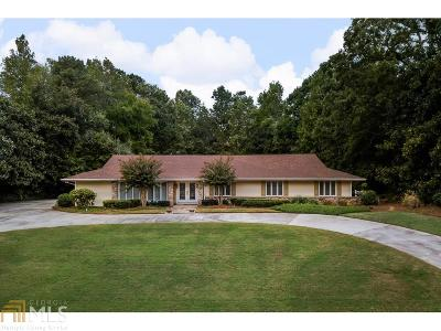 Atlanta Single Family Home New: 8025 Monticello Dr
