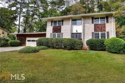 Marietta Single Family Home New: 871 Bayliss Dr