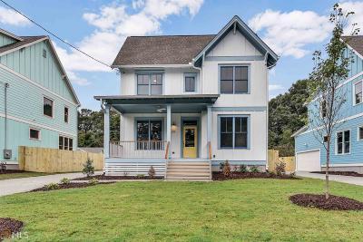 Atlanta Single Family Home New: 219 S Howard St