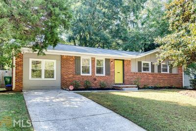 Decatur Single Family Home Under Contract: 2923 Fantasy Lane