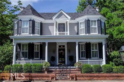 Haddock, Milledgeville, Sparta Single Family Home For Sale: 210 N Jefferson