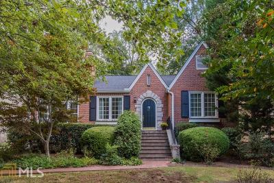 Atlanta Single Family Home New: 509 Princeton Way