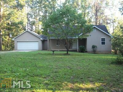 Banks County Single Family Home Under Contract: 1444 Hickory Flat Rd