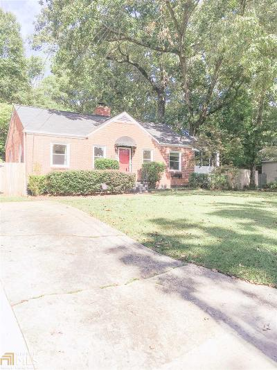 Decatur Single Family Home New: 2900 Midway Rd E