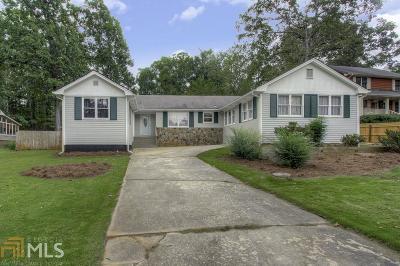 Conyers Single Family Home New: 610 Glenridge Ct
