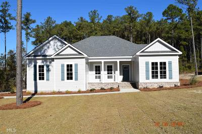 Statesboro Single Family Home For Sale: 116 Ashford Dr #3