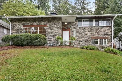 Atlanta Single Family Home New: 1780 N Rock Springs Rd