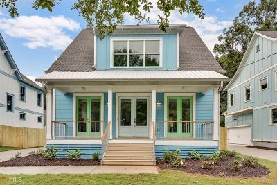 Atlanta Single Family Home New: 217 S Howard St