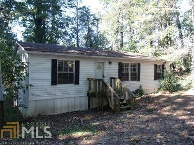 Habersham County Single Family Home New: 1705 Yonah Post Rd
