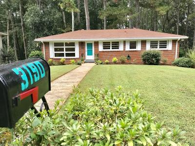 Decatur Single Family Home Under Contract: 3190 Betty Cir