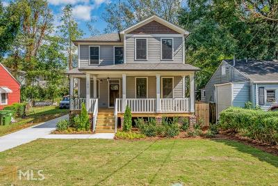 Atlanta Single Family Home New: 195 Whitefoord Ave