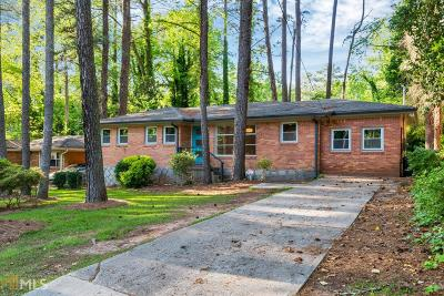 Decatur Single Family Home New: 3354 Pinehill Dr