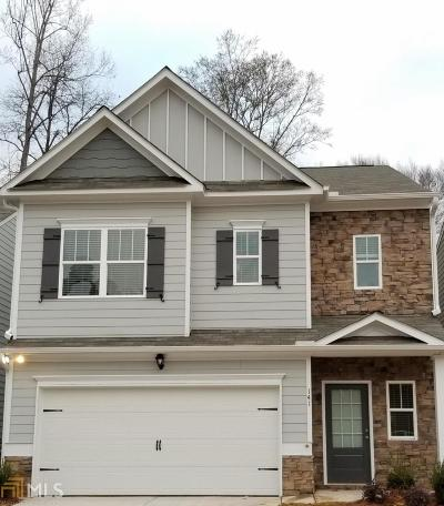 Canton Single Family Home For Sale: 204 Hickory Commons Way