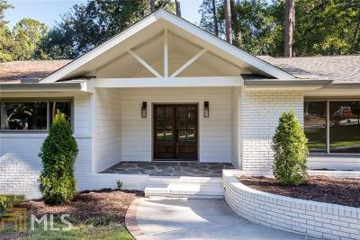 Atlanta Single Family Home New: 1595 Wesley