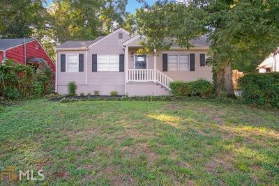 Atlanta Single Family Home New: 193 Clay St