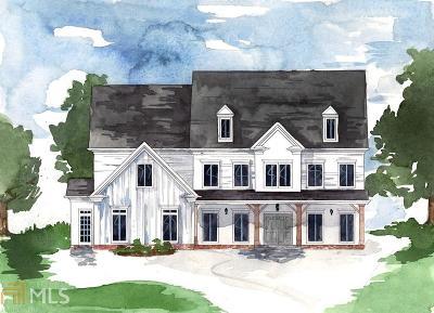 Alpharetta Single Family Home New: 190 Meadow Dr