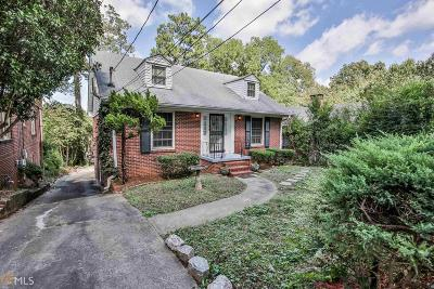 Atlanta Single Family Home New: 996 Cumberland Rd