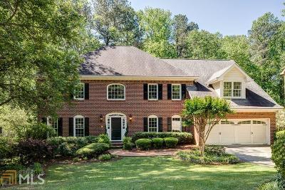 Marietta Single Family Home Under Contract: 3358 E Terrell Branch