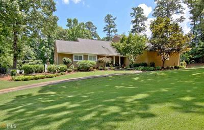 Peachtree City GA Single Family Home For Sale: $587,500