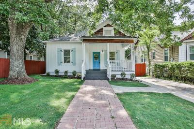 Atlanta Single Family Home New: 1391 SW Beatie Ave