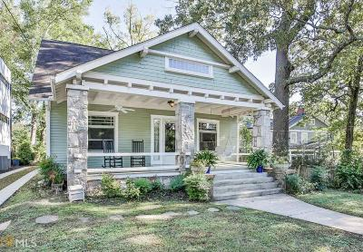 Decatur Single Family Home Under Contract: 115 Michigan