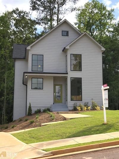 Atlanta Single Family Home New: 1755 East Lake Forest Trce