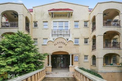 Alhambra Condo/Townhouse New: 2855 Peachtree Rd #204