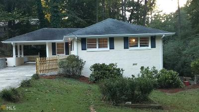 Smyrna Single Family Home New: 1942 Kenwood Rd
