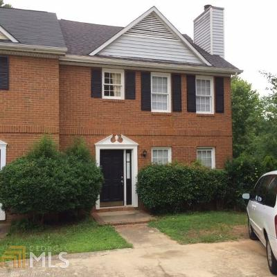 Lilburn Condo/Townhouse Under Contract: 4868 Indian Lake Ct #82A