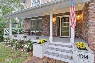 Woodstock Single Family Home Under Contract: 1014 Wiley Bridge Rd