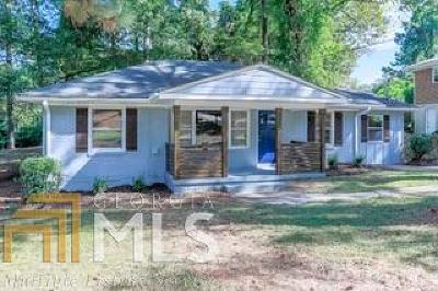 Decatur Single Family Home New: 2076 Holly Hill Dr