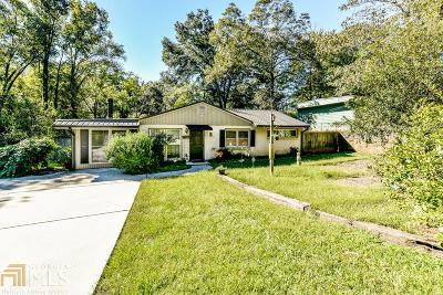 Decatur Single Family Home New: 3077 Brook Dr