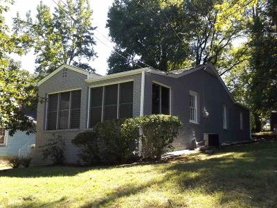 Atlanta Single Family Home New: 1434 Eason