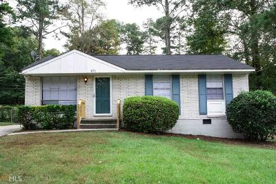 Clayton County Single Family Home New: 671 Robert E Lee Pkwy