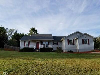 Banks County Single Family Home Under Contract: 123 Sullivan Dr