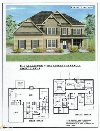 Senoia Single Family Home For Sale: 155 Reserve Pl #Lot 29